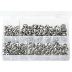Assortment Box of Stainless Steel Nuts - Metric