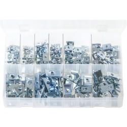 Assortment Box of U-Nuts (Speed Fasteners)