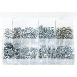 Assortment Box of Flat Clips (Push-on Fixes)