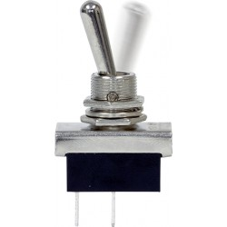 12V Metal Toggle Switch - Flash/Off