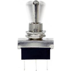 12V Metal Toggle Switch - Flash/Off/Flash