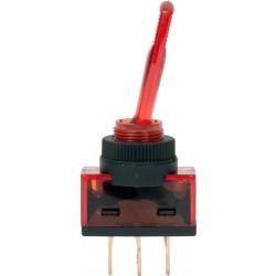 12V Illuminated Toggle Switch - On/Off