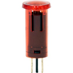 12V Illuminated Indicator light Round
