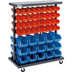 Mobile Double Sided Storage System