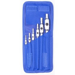 BONDHUS HEX PRO Pivot Head Wrenches 6 Pcs Metric