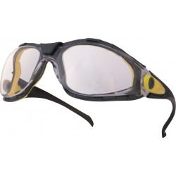 DELTAPLUS LYVIZ Coated Single Lens Easy Clean Safety Glasses
