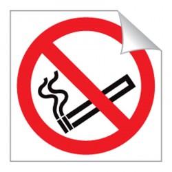 No Smoking 80 x 80mm Sticker