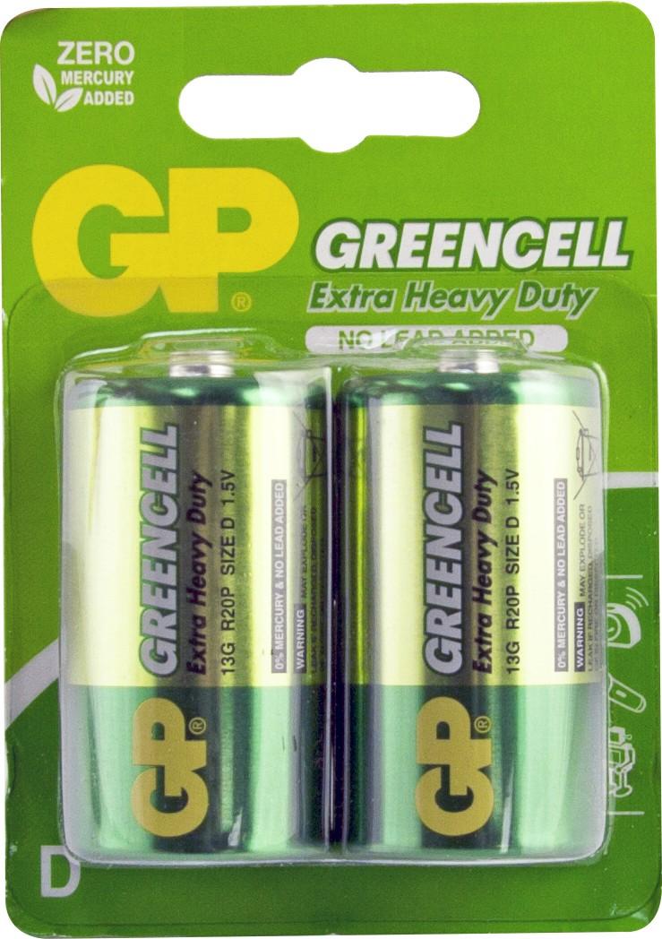 Gp Batteries  U0026 39 Greencell U0026 39  Extra Heavy Duty Batteries