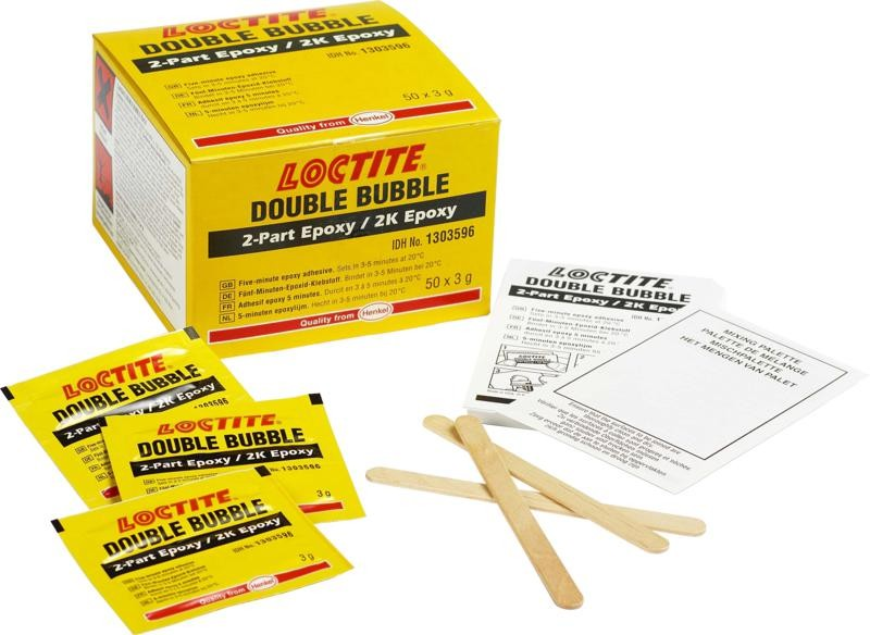 Loctite 5 Minute Epoxy : Loctite double bubble minute epoxy