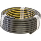 Air Line Hose - Black Rubber with Yellow Stripe