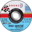 DRONCO '1.6 mm Inox Special' Flat Metal Cutting Discs