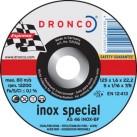DRONCO '1.6 mm Inox Special' Flat Metal Cutting Discs