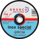 DRONCO 'Inox Special' Cut+Grind Discs - Depressed Centre
