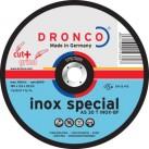 DRONCO 'Inox Special' Cut+Grind Discs - Depressed Centre