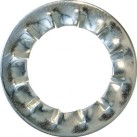 Lock Washers, Serrated Internal - Metric