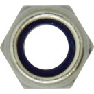 Nylon Lock Nuts - Metric Fine