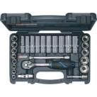 """KS TOOLS 'CHROMEplus®' 3/8"""" Drive Regular & Deep Socket Set"""