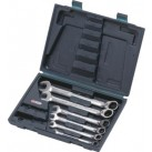 KS TOOLS 'GEARplus®' Reversible Ratchet Combination Spanner Set