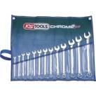 KS TOOLS 'CHROMEplus®' Mirror Polished Combination Spanner Set