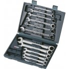 KS TOOLS 'GEARplus®' Ratchet Combination Spanner Set