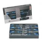 KS TOOLS 'ERGOTORQUEplus®' Slotted & POZIDRIV® Screwdriver Set