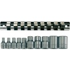 "TENG TOOLS 1/4"" & 3/8"" Drive TX-E Bit Socket Set"