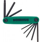 BONDHUS TORX® Driver Fold Up Set