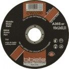 BIBIELLE 1.2 mm Thin Cut-offFlat Metal Cutting Discs