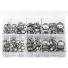 Assortment Box of OETIKER '167' O-Clips - Single Ear Clamps