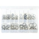 Assortment Box of Aluminium Washers - Metric