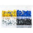 Assortment Box of Security Number Plate Fasteners.