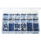 'Max Box' Assortment of Terminals Insulated - Blue