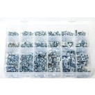 'Max Box' Assortment of Sheet Metal Screws, U-Nuts & J-Nuts