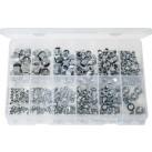 'Max Box' Assortment of Steel Nuts & Nylon Lock Nuts