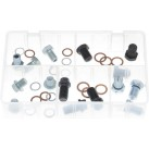 Assorted Box of Sump Plugs and Washers