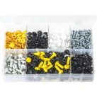 Assortment Box of Number Plate Fasteners