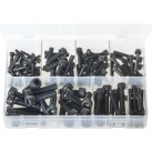 Assortment Box of Socket Screws Cap Head - Metric Black