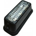 LED Amber Warning Light - 3 x COB LED 8W