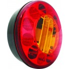 "5"" LED Tail Lamp - Stop/Tail/Indicator"
