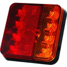"4.5"" LED Multifunction Tail Lamp - Stop/Tail/Indicator"