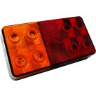 "6"" LED Multifunctional Tail Lamp - Stop/Tail/Indicator"