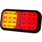 "7.5"" LED Multifunctional Tail Lamp - Stop/Tail/Indicator"