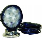 "LED Magnetic Work Lamp - 4"" Round"