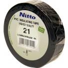 NITTO '21'Plastic Tape - Black