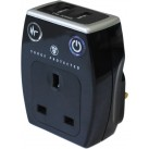 Surge Protector with 2 x USB Sockets