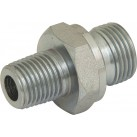 Hydraulic BSPP/BSPT Adaptor - Male : Male