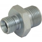 Hydraulic BSPP Adaptor - Male : Male