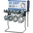 JCS 'Hi-Grip' Hose Clips Dispenser with 100 Clips