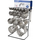 JCS 'Hi-Grip' Hose Clips Dispenser with 160 Clips