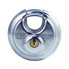 IFAM Circular Discus Padlock- Stainless Steel